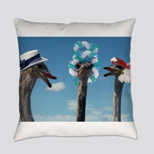 Hat Day at Ascot Everyday Pillow