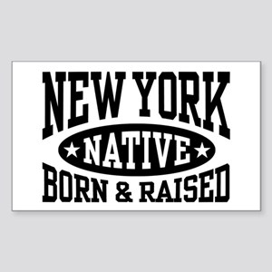 New York Native Sticker (Rectangle)