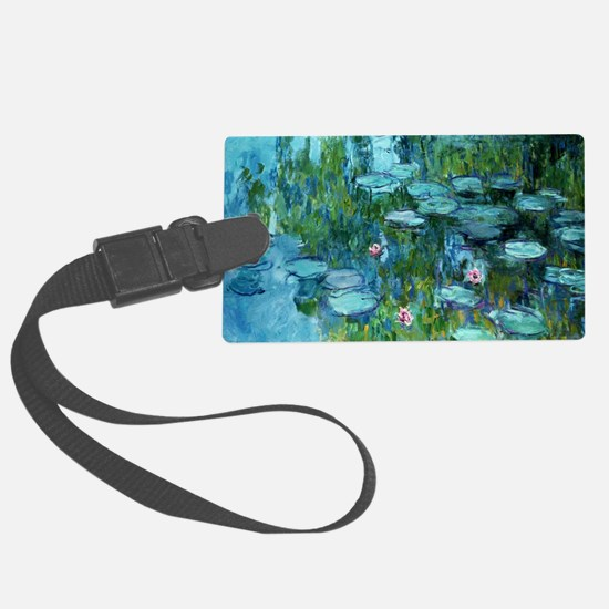 Funny Monet Luggage Tag