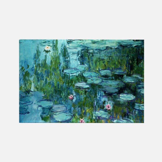 Funny Claude monet Rectangle Magnet