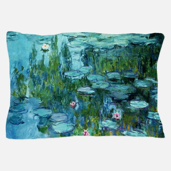 Cute French impressionism Pillow Case
