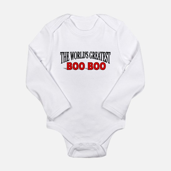 """""""The World's Greatest Boo Boo Infant Creeper Body"""
