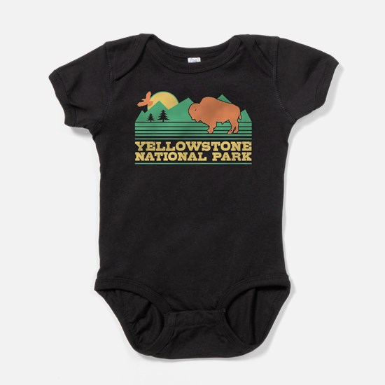 Yellowstone National Park Baby Bodysuit