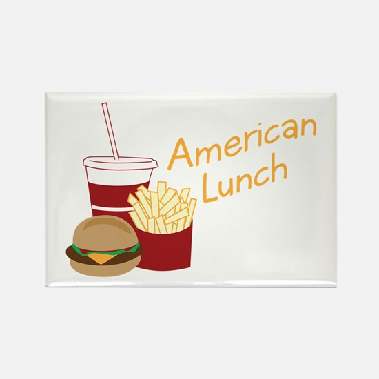 American Lunch Magnets