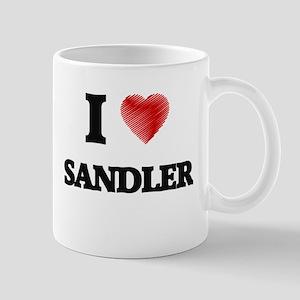 I Love Sandler Mugs