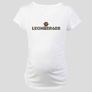 Leonberger (dog paw) Maternity T-Shirt