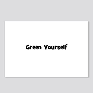Green Yourself Postcards (Package of 8)
