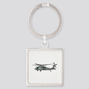 Black Hawk Helicopter Keychains