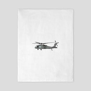 Black Hawk Helicopter Twin Duvet