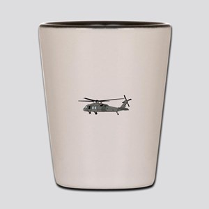 Black Hawk Helicopter Shot Glass