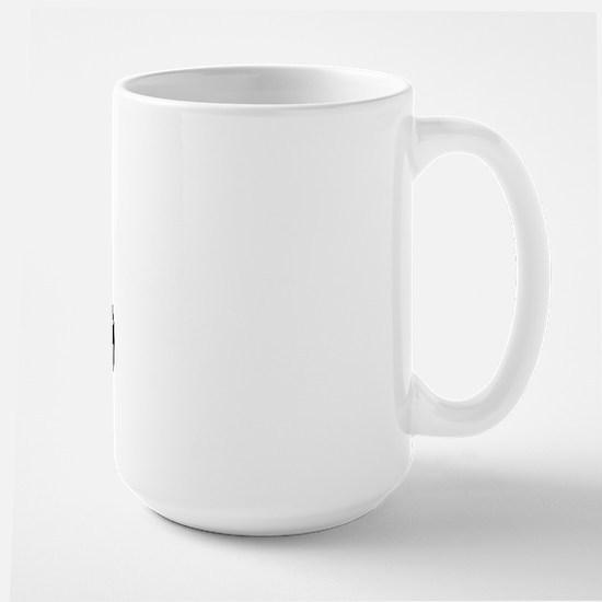 Jindo (dog paw) Large Mug