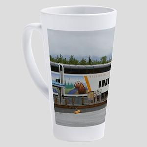 Wilderness Express, Denali, Alaska 17 oz Latte Mug
