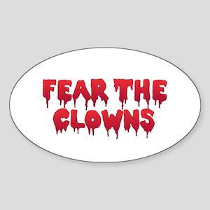 Fear the Clowns Sticker