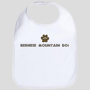 Bernese Mountain Dog (dog paw Bib