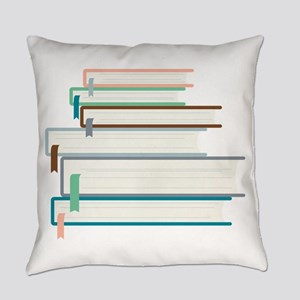 Stack Of Books Everyday Pillow