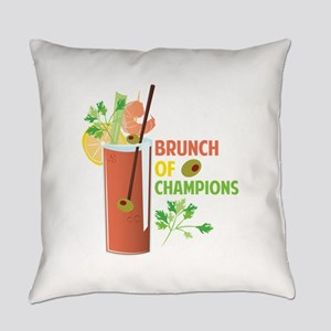 Brunch Of Champions Everyday Pillow