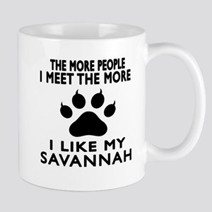 I Like My Savannah Cat Mug