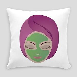 Facial Everyday Pillow