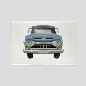 1960 Ford F100 Rectangle Magnet