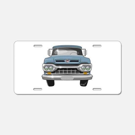 1960 Ford F100 Aluminum License Plate