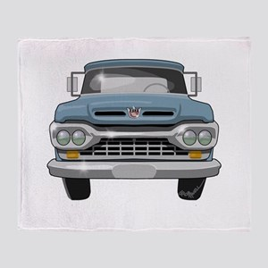 1960 Ford F100 Throw Blanket