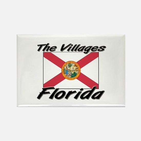 The Villages Florida Rectangle Magnet