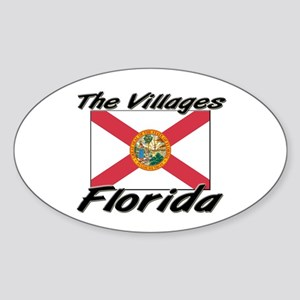 The Villages Florida Oval Sticker