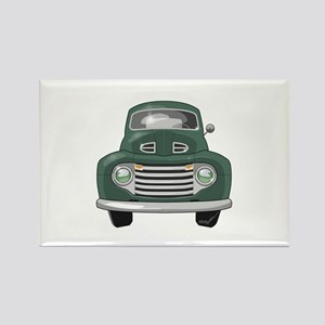 1950 Ford F1 Rectangle Magnet