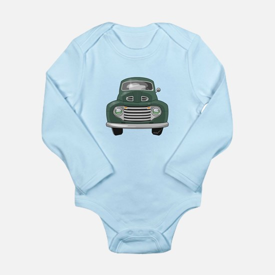 1950 Ford F1 Long Sleeve Infant Bodysuit