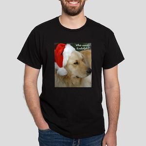 Christmas Retriever Dark T-Shirt