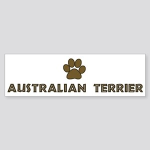 Australian Terrier (dog paw) Bumper Sticker