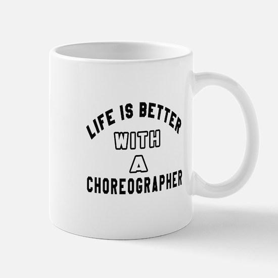 Choreographer Designs Mug