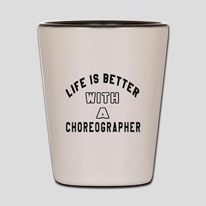 Choreographer Designs Shot Glass