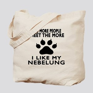 I Like My Nebelung Cat Tote Bag