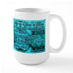 Isaiah - Yeshayahu 9:6 Large Mug