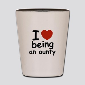 I love being an aunty Shot Glass