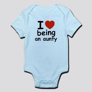 I love being an aunty Infant Bodysuit