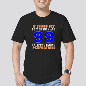 99 I'm Approaching Per Men's Fitted T-Shirt (dark)