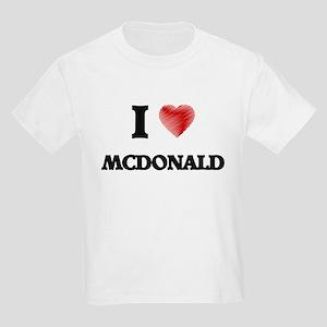 I Love Mcdonald T-Shirt