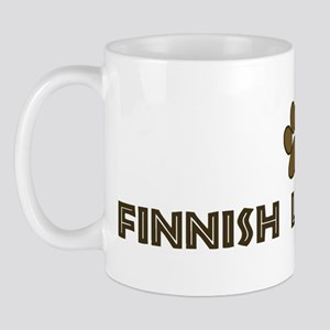 Finnish Lapphund (dog paw) Mug