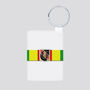 Ribbon - VN - VCM - 5th SF Aluminum Photo Keychain