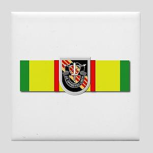 Ribbon - VN - VCM - 5th SFG Tile Coaster