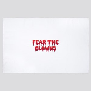 Fear the Clowns 4' x 6' Rug