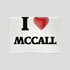 I Love Mccall Magnets