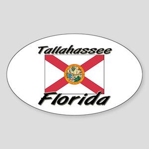 Tallahassee Florida Oval Sticker