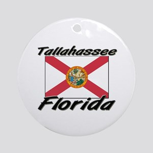 Tallahassee Florida Ornament (Round)