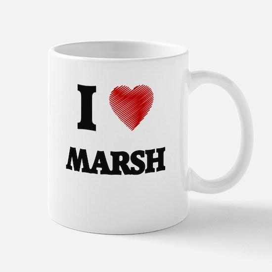 I Love Marsh Mugs