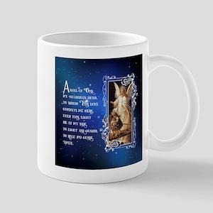 Angel of God (Night) Mugs