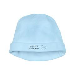 Unicorn Whisperer baby hat
