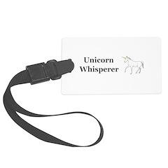 Unicorn Whisperer Luggage Tag